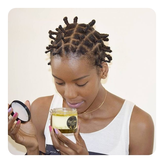74 cool bantu knots hairstyles with how to tutorials as you can see bantu knots can be created with short styles as well this is a great protective style if you are trying to grow out your hair thecheapjerseys Image collections