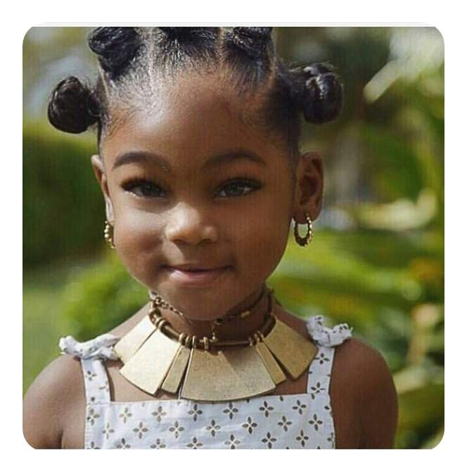 74 cool bantu knots hairstyles with how to tutorials style for an event for your child then you wont find a more elegant and sweet style than this one we love how cute she looks with the small knots thecheapjerseys Image collections