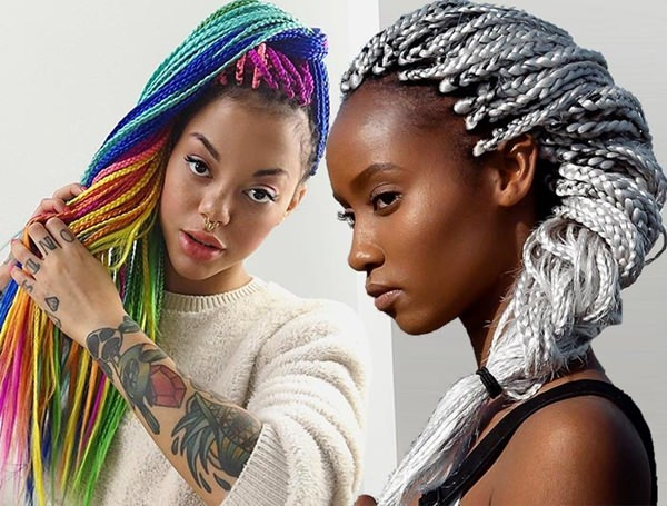 55 of the Most Beautiful Jumbo Box Braids to Inspire Your ... White Girl With Cornrows Orange Is The New Black
