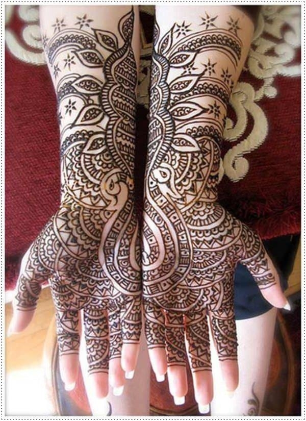 fbf00c43c2934 70 of the Most Original Henna Tattoo Designs for the Year