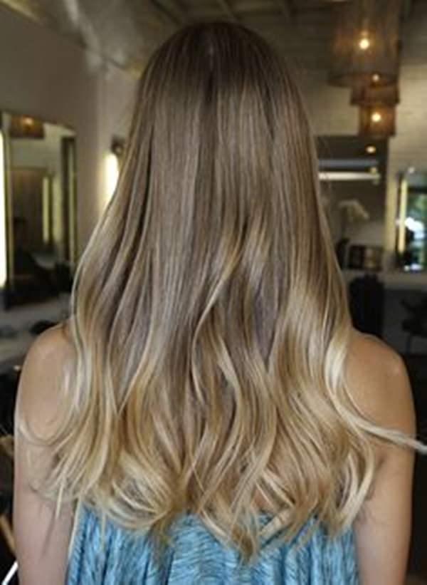 Light Blonde Hair Balayage Lighter