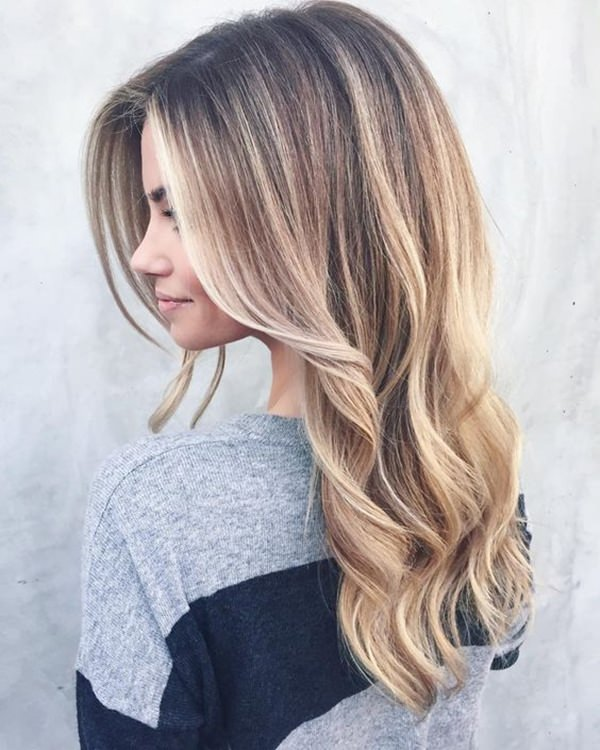 Great Natural Looking Streaks And Highlights Straight Hair