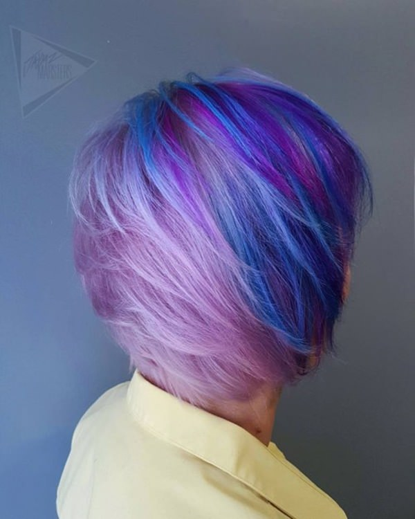 44 Incredible Blue And Purple Hair Ideas That Will Blow Your Mind