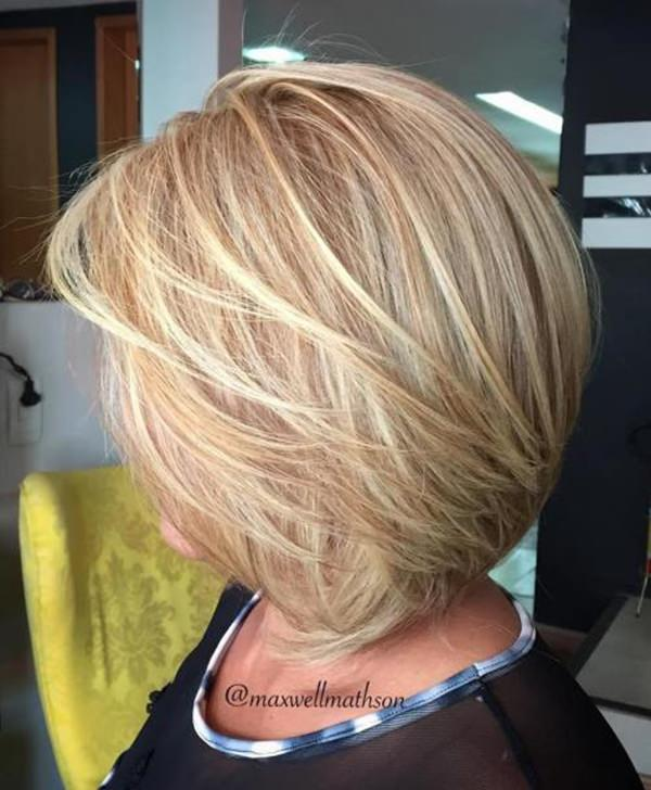 Medium Bob Hairstyles 2019 Hairstyles For Women Over 40 77