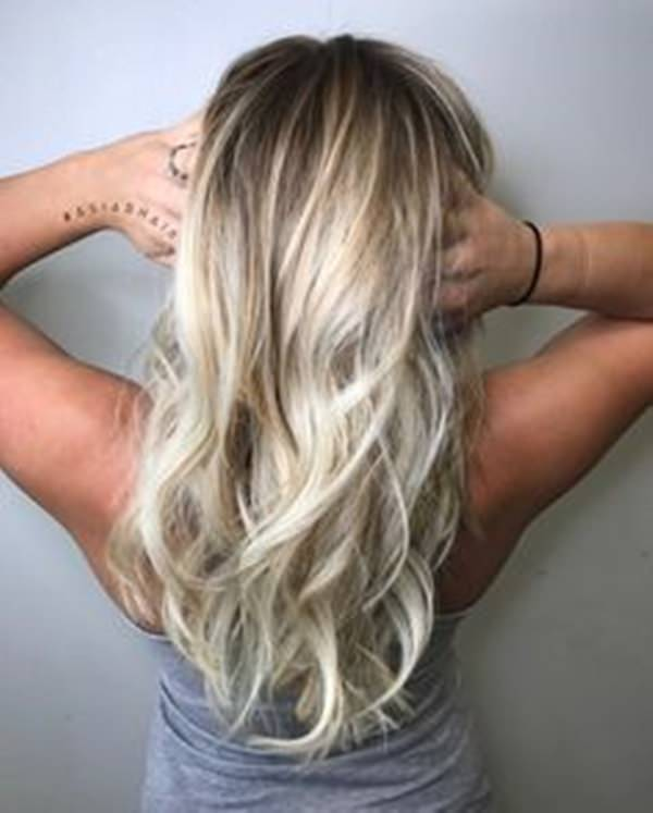 Blonde Hair Natural Highlights