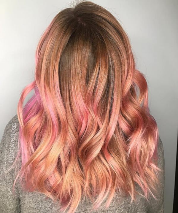 45 Gorgeous Rose Gold Hairstyle Ideas That Will Change Your World