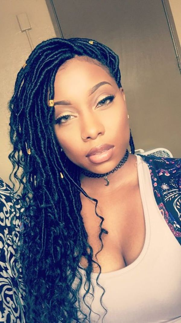 67 Funky Faux Locs Photos To Inspire You-3069