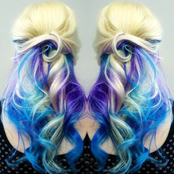 mermaid style hair 70 breathtaking mermaid hairstyles that are vibrant 2680 | 1060417 mermaid hairstyle
