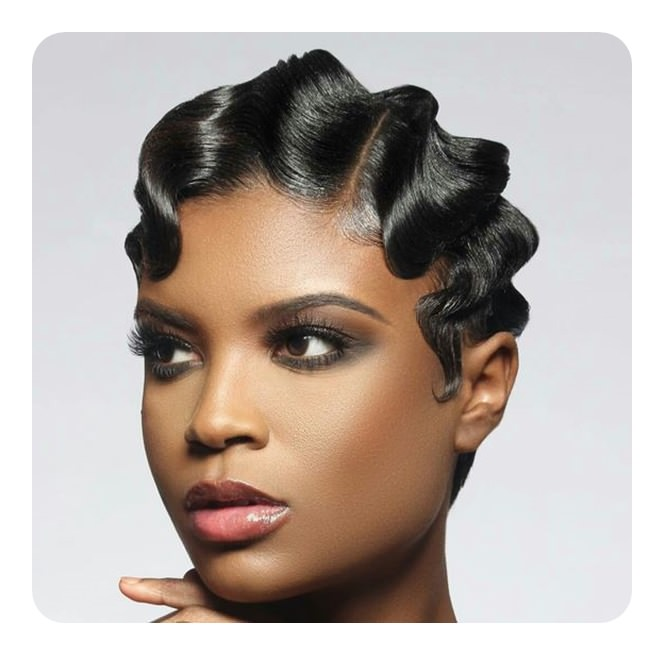 wave style hair 68 vintage finger waves hairstyles you will want 7544