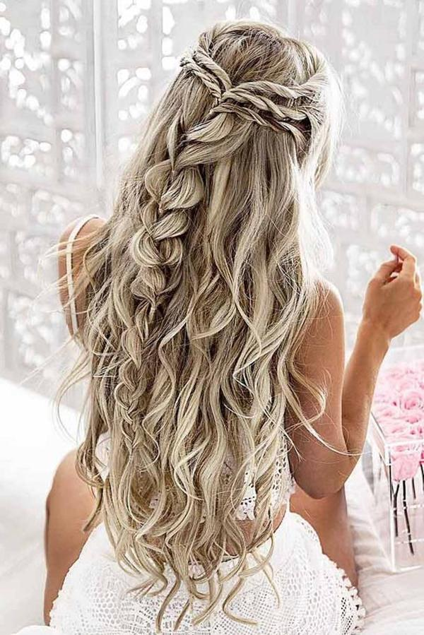 Fine 68 Elegant Half Up Half Down Hairstyles That You Will Love Schematic Wiring Diagrams Amerangerunnerswayorg