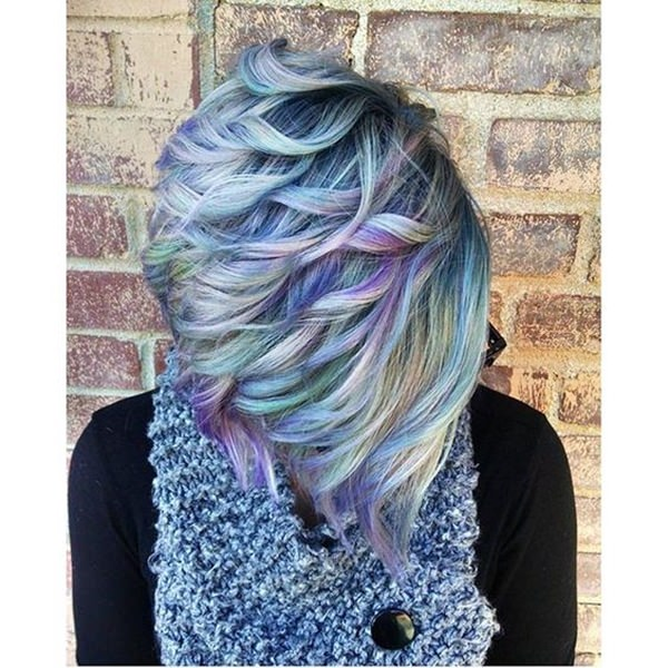 died hair styles 70 breathtaking mermaid hairstyles that are vibrant 4973 | 30060417 mermaid hairstyle