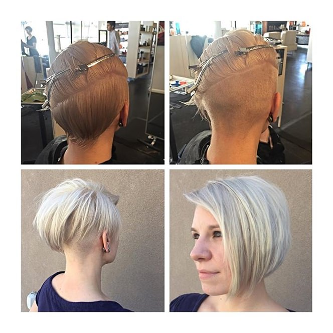 Popular Cool Asymmetrical Bob
