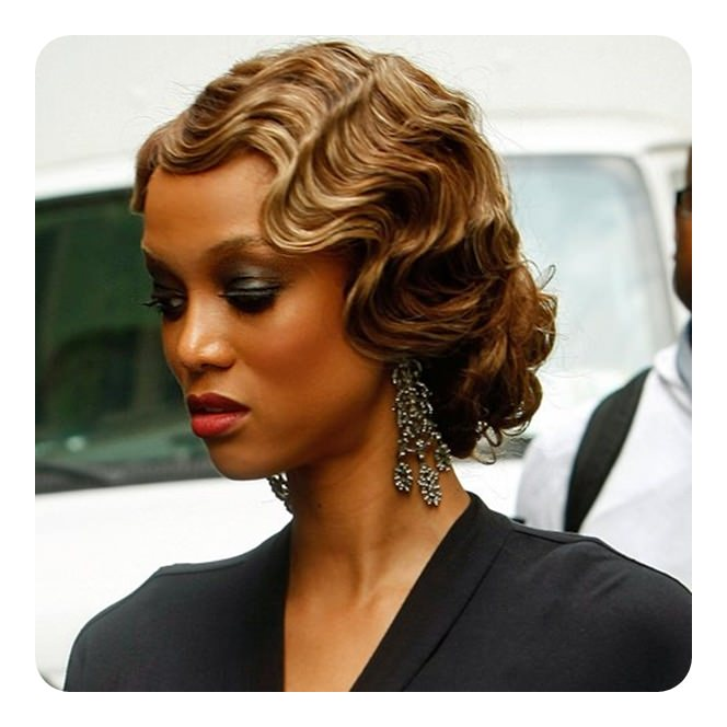 68 Vintage Finger Waves Hairstyles You Will Want