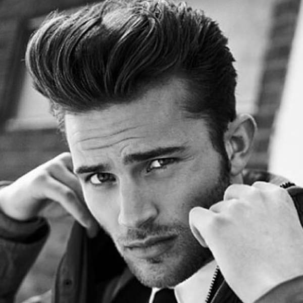44 Stylish Pompadour Haircut Ideas That Are Hip