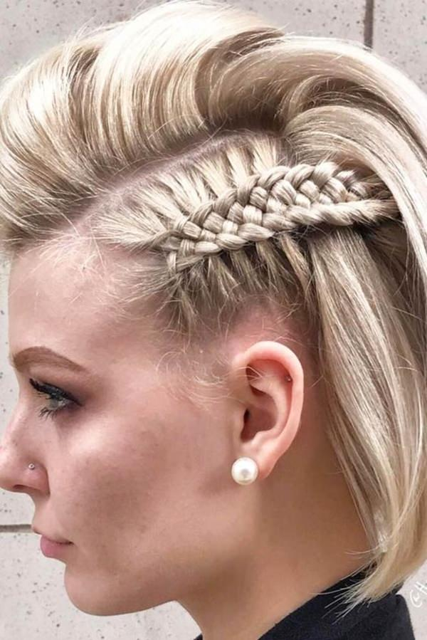 braid styles for medium hair 73 stunning braids for hair that you will 6029 | 54130917 braids for short hair