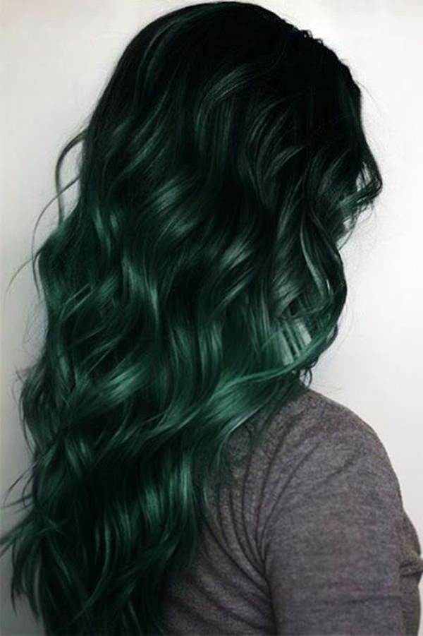 76 Stunning Green Hair Ideas That Are Mind Blowing