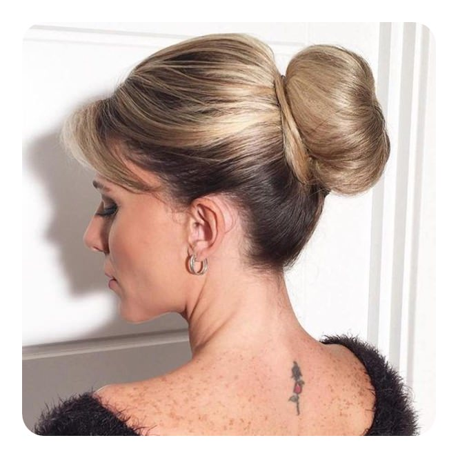 sock bun hair styles 60 awesome sock bun hairstyles with tutorial 4554