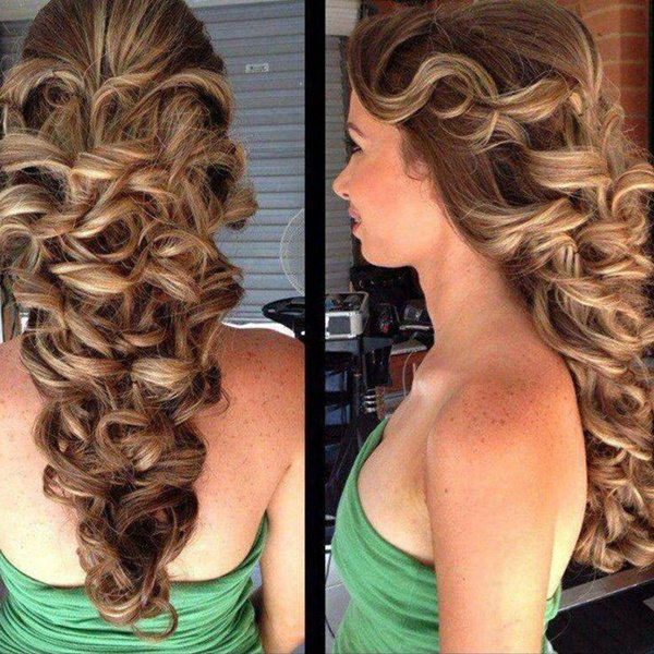 Simple Prom Hair Designs