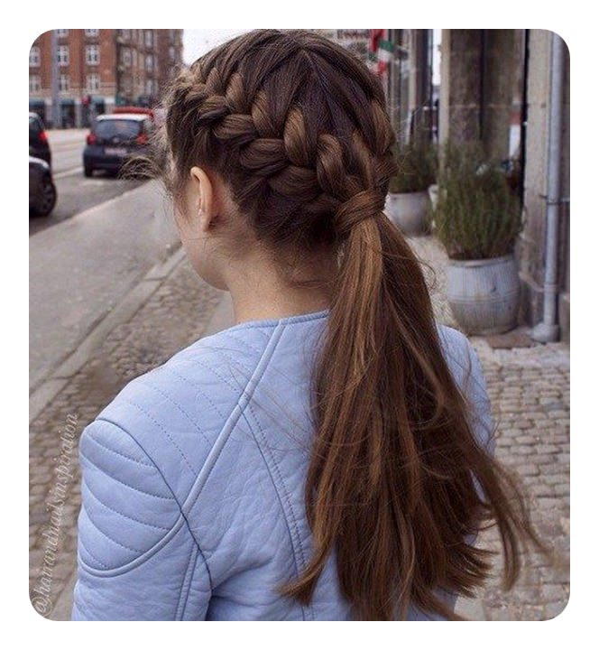 125 Cute Braided Ponytail Ideas For Spring