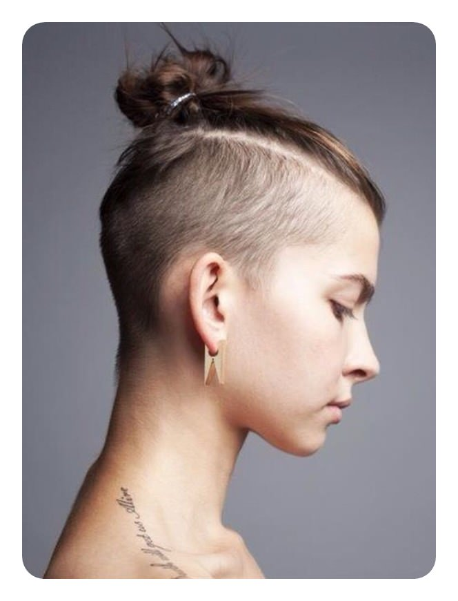 If you are looking for a bold look, then try out this undercut that goes all  the way up. The very top is all that\u0027s kept long.