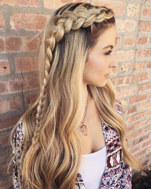 This Outside Braid Is Perfect To Create A Side With