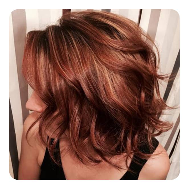 Check Out These 72 Stunning Red Hair Color Ideas With Highlights