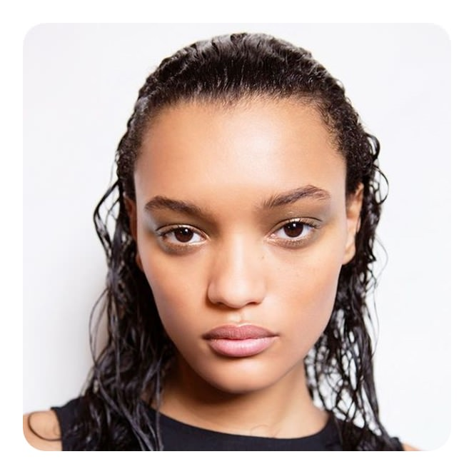 62 Fast And Easy Hairstyles For Wet Hair