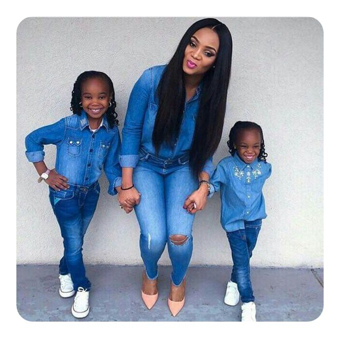 4ee3a298f4e66 41 Fun Mother Daughter Hairstyles to Try Together