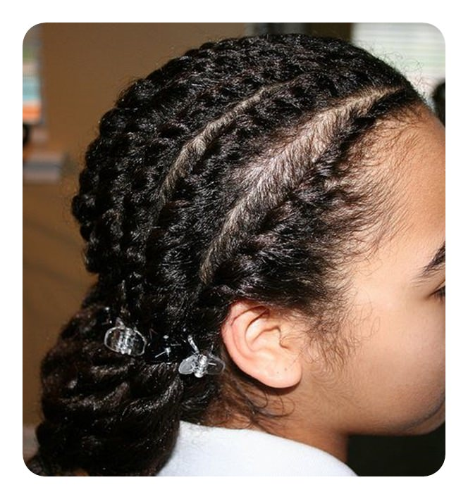 wet natural hair styles 71 sexiest flat twist braid ideas for this season 4703 | 4220218 flat twist