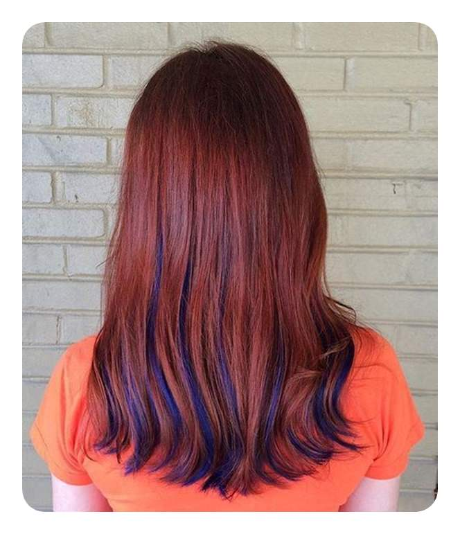 Put Red And Blue Together To Get This Amazing Style