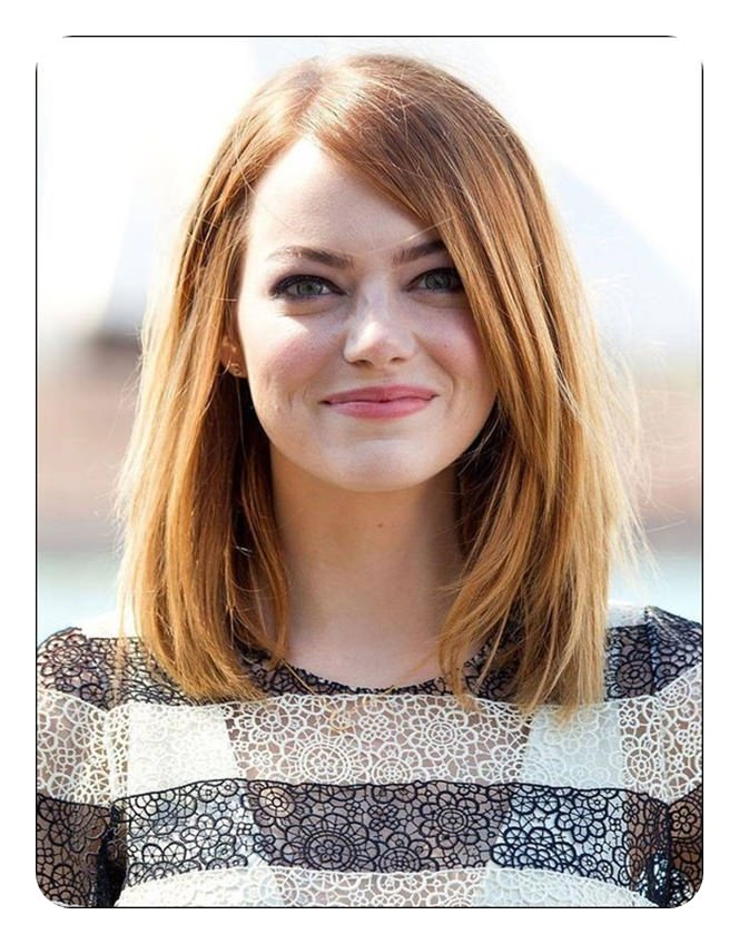 88 Beautiful And Flattering Haircuts For Oval Faces