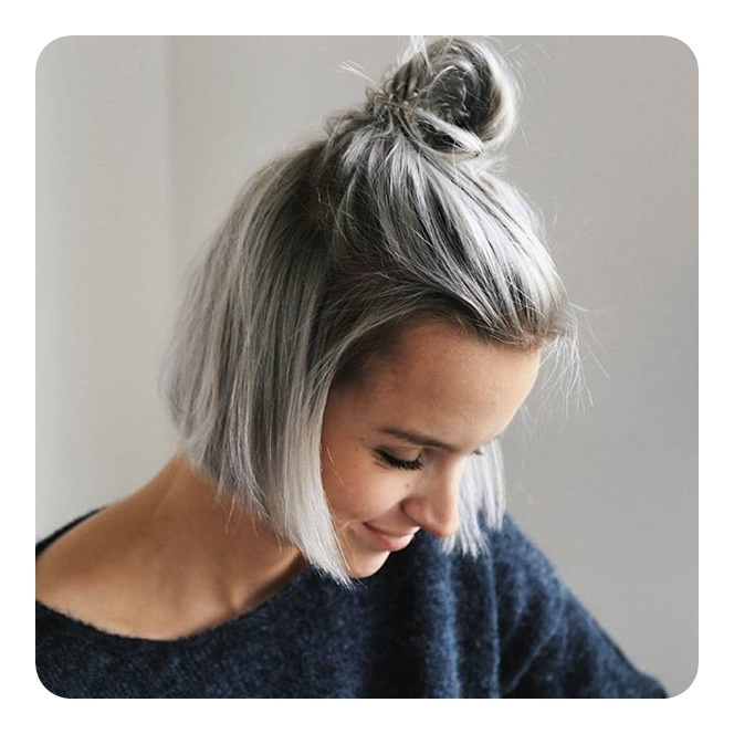 styling grey hair 101 awe inspiring grey hair trends 9216 | 97120318 grey hair