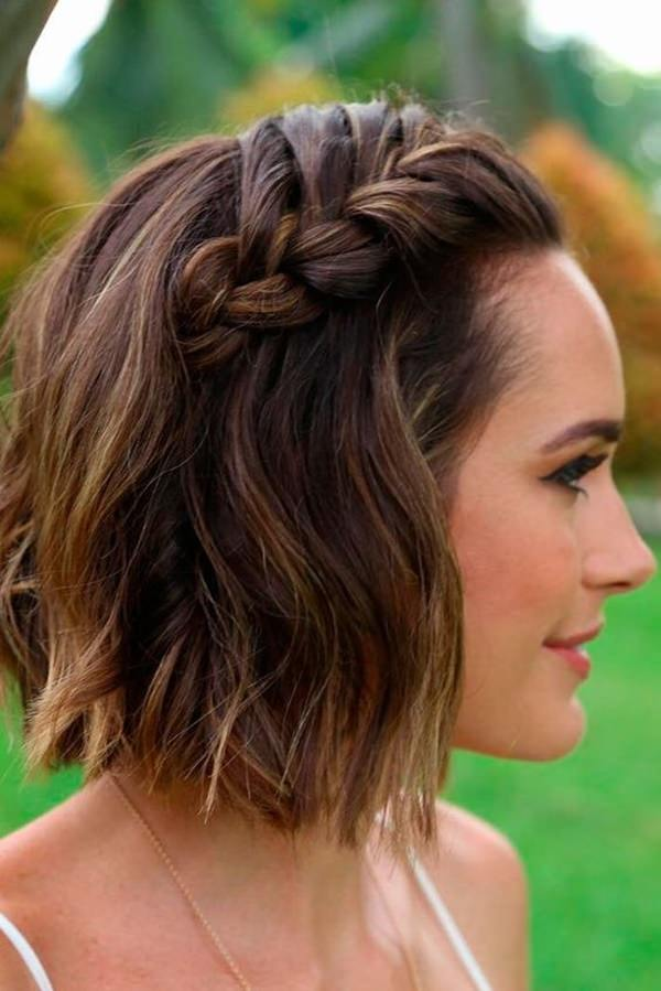 48 Sexy and Sassy Updos For Short Hair