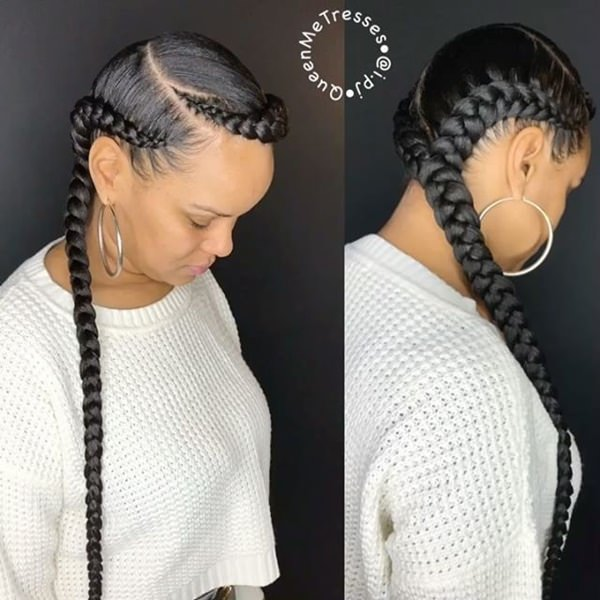 All You Need Is Twoids To Complete This Gorgeous Hairstyle We Love These Thick And Glossyids