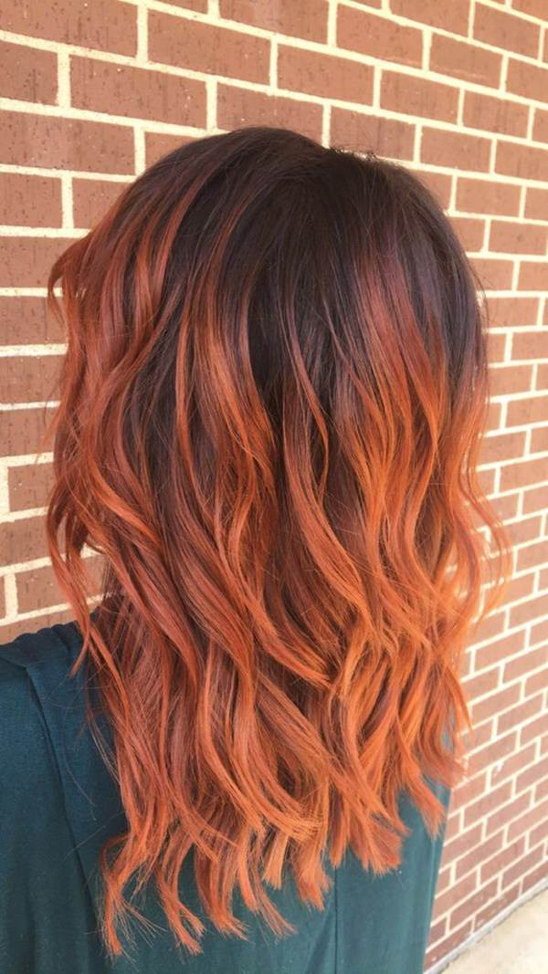 89 Trendy And Beautiful Copper Hair Color Ideas