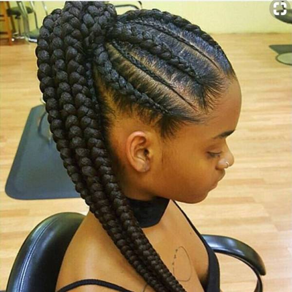 A Great Style That Is And Pulled Back Into A Pony If You Like Casual Styles Then This Is The One For You