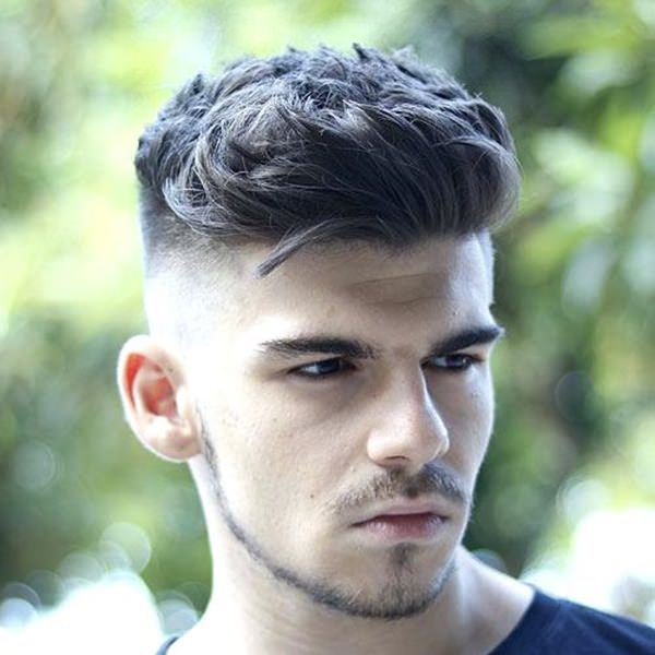 Medium Length Thick Hair Fade Hairstyles For Men 94