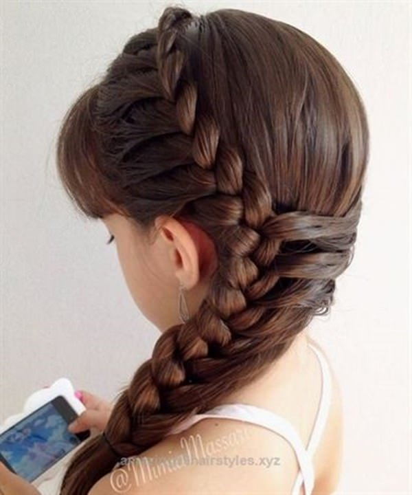 133 Gorgeous Braided Hairstyles For Little Girls