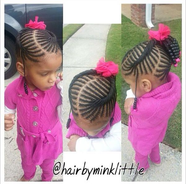 The Great Part About This Style Is That You Can Keep It In Your Child S Hair For A Of Months Which Means Very Low Maintenance