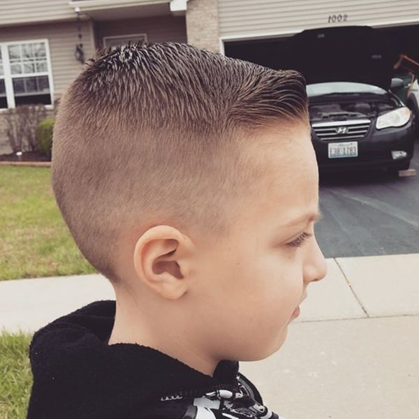 116 Sweet Little Boy Haircuts To Try