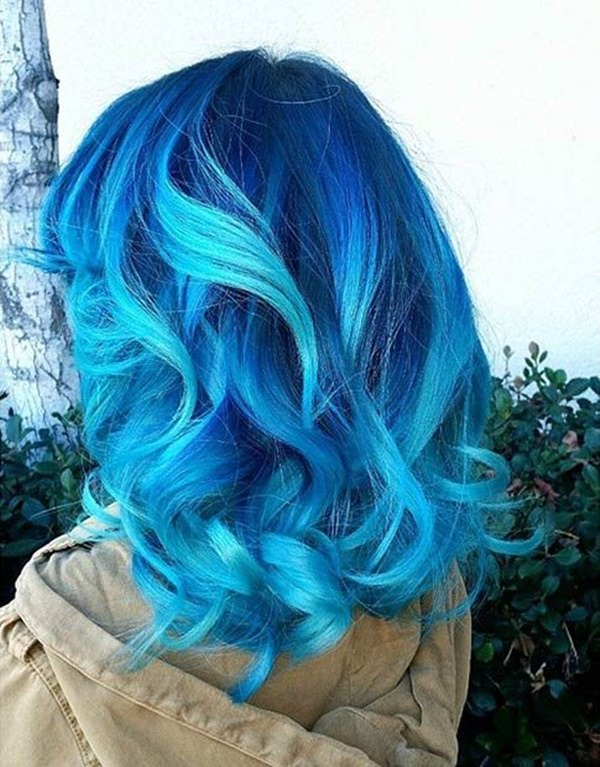 68 Daring Blue Hair Color For Edgy Women