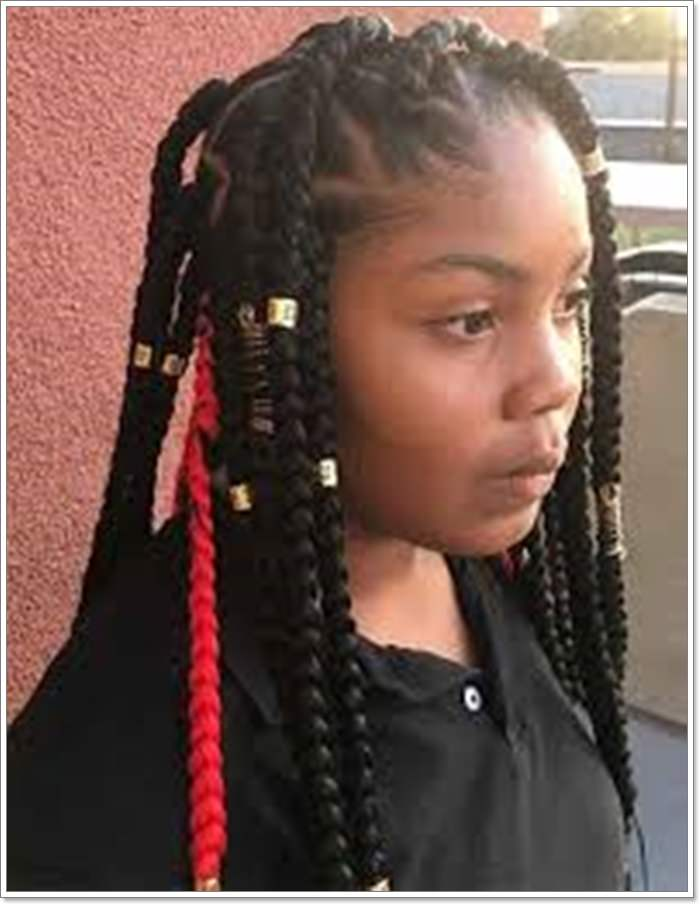 75 of the Most Beautiful Jumbo Box Braids to Inspire Your ...