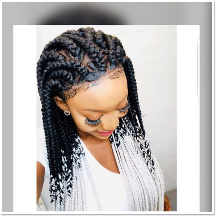 75 Of The Most Beautiful Jumbo Box Braids To Inspire Your