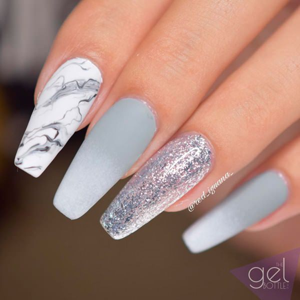 97 Inspiring Coffin Nail Ideas to Try This Year