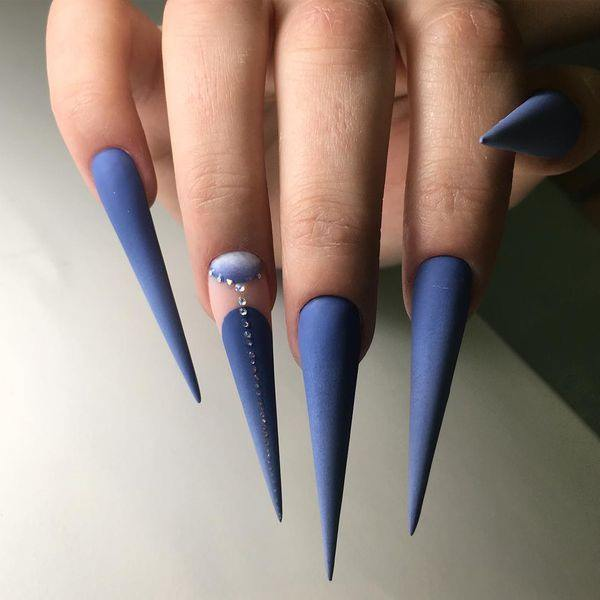 75 Bold Stiletto Nails That Will Blow Your Mind
