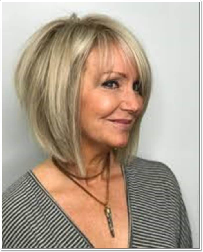 45 Striking Hairstyles For Women Over 60